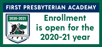 First Pres Academy Open Enrollement